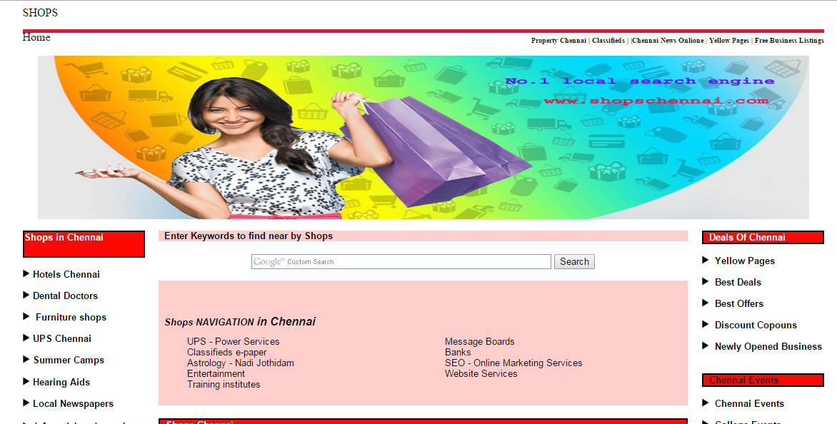 yellow pages chennai