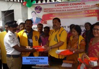Lioness distributed free reflectors jackets