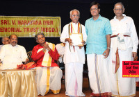 Sri K Narayanan Awarded