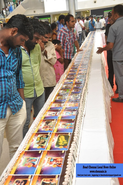 The French Loaf creates India's longest Photo Cake celebrating Daan Utsav