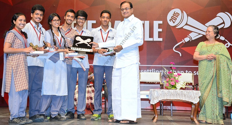 "of Lady Andal Venkatasubba Rao School organised a two day Inter- School Debating Event, ""The Battle-On"