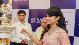 Actress Trisha  launched NAC Kanchipuram, Perambur and Velachery